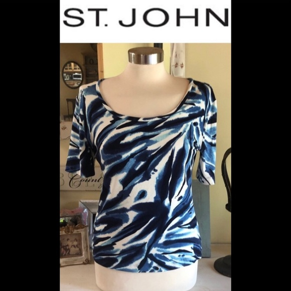 St. John Tops - ST. JOHN TOP SZ SMALL